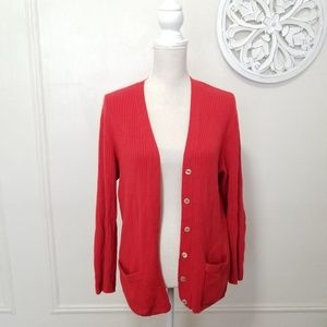 Saks Fifth Avenue Sweaters - Saks fifth Avenue size L cashmere cardigan